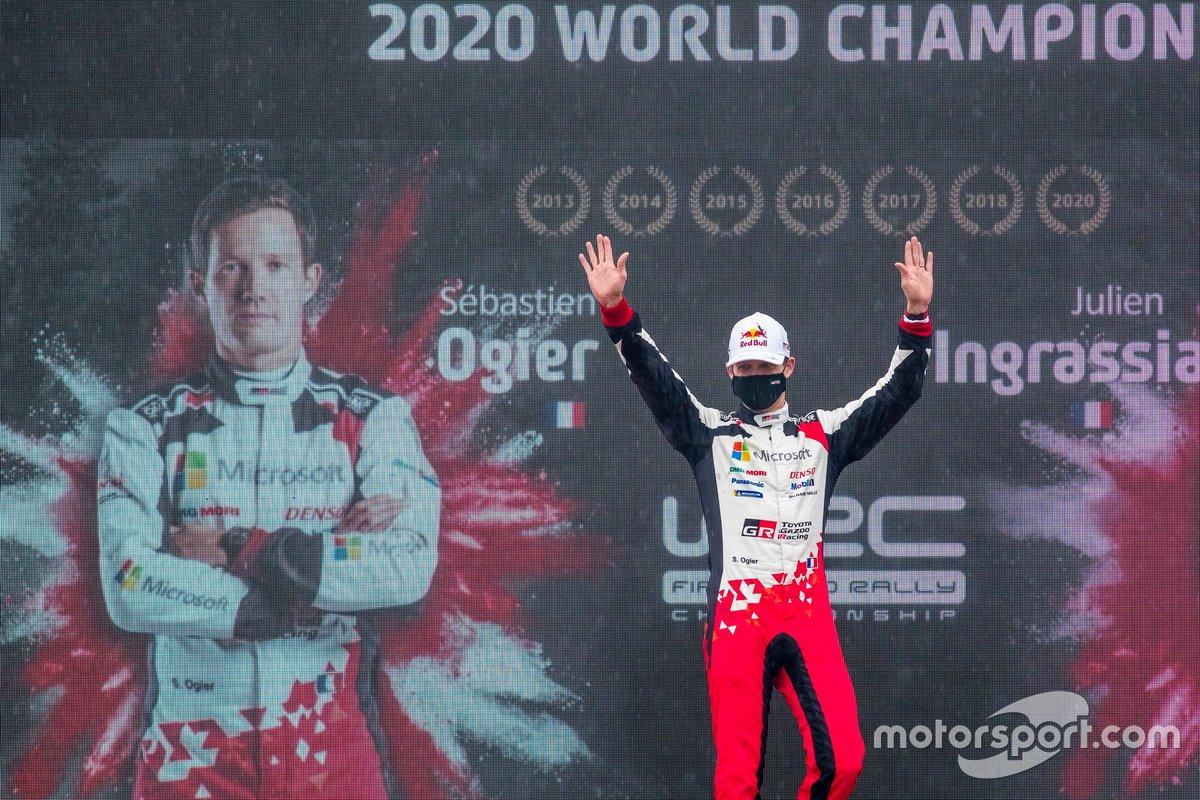 Sébastien Ogier, Toyota Gazoo Racing, WRC