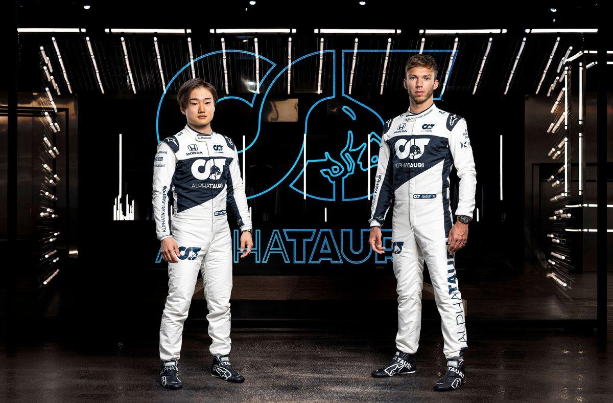 Yuki Tsunoda, Pierre Gasly, Alpha Tauri