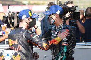 Pol Espargaro, Red Bull KTM Factory Racing, Franco Morbidelli, Petronas Yamaha SRT
