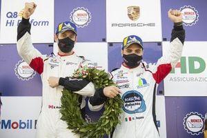 Podio di Gara 2: Bashar Mardini, Tsunami RT, Simone Iaquinta, Ghinzani Arco Motorsport