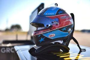 Helmet of Colton Herta, Andretti Autosport Honda