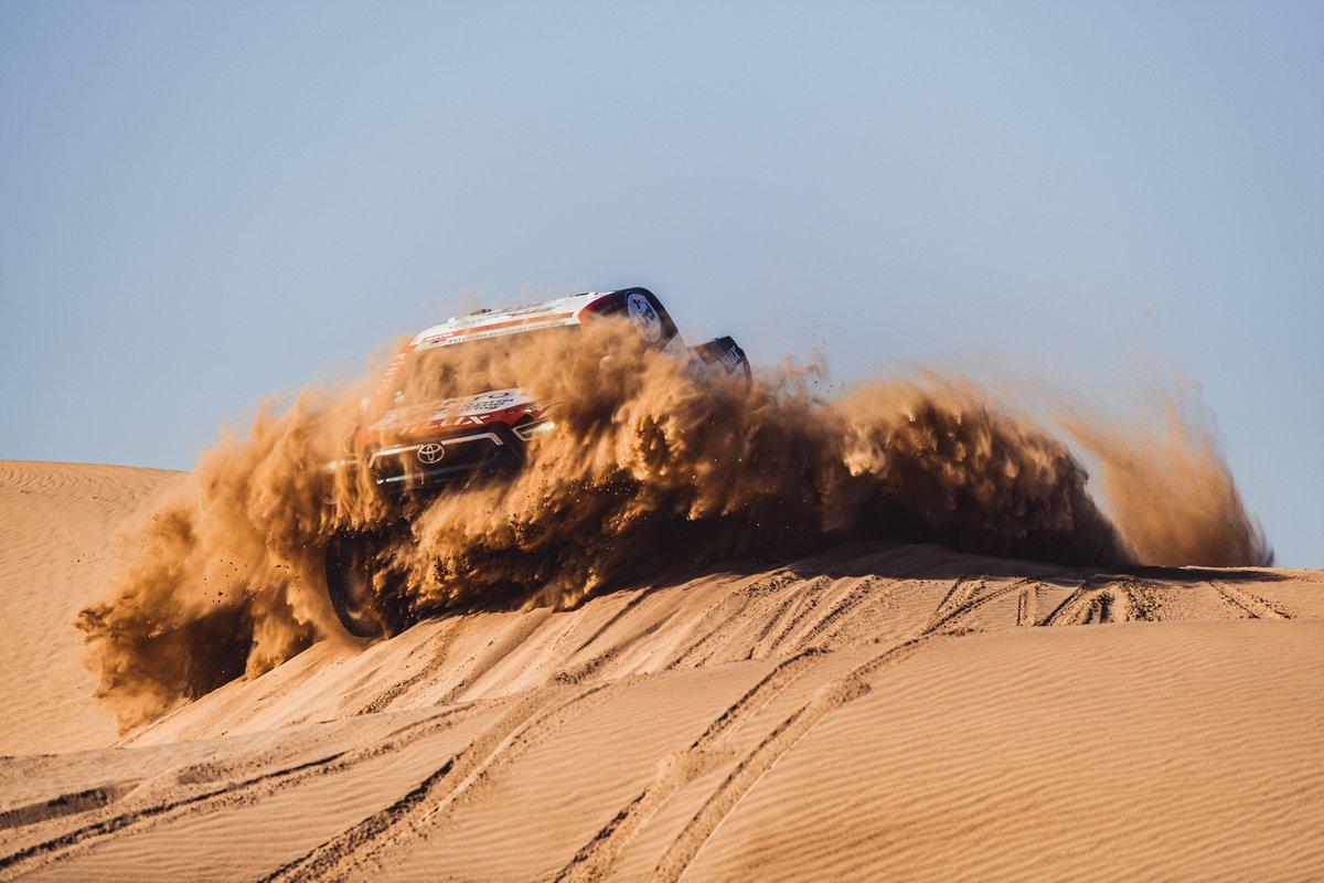 Toyota Gazoo Racing en acción