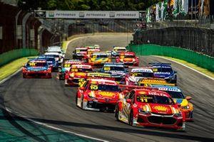 Largada da final da Stock Car 2020 em Interlagos