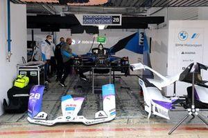 BMW i Andretti Motorsport garaje