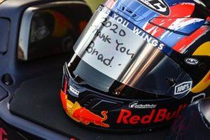 Helm van Brad Binder, Red Bull KTM Factory Racing