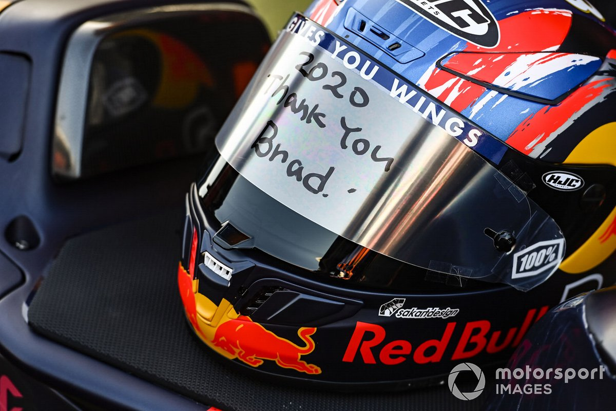 Casco de Brad Binder, Red Bull KTM Factory Racing