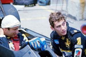 Elio de Angelis, Lotus 97T, Ayrton Senna, Lotus