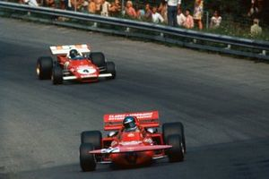 Mike Beuttler, March 711 Ford, Jacky Ickx, Ferrari 312B2