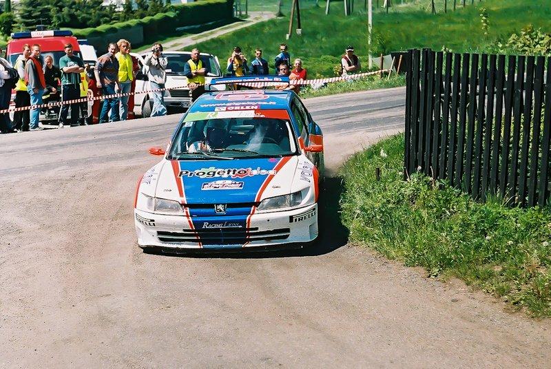 Luca Pedersoli, Daniele Vernuccio, Peugeot 306 Maxi