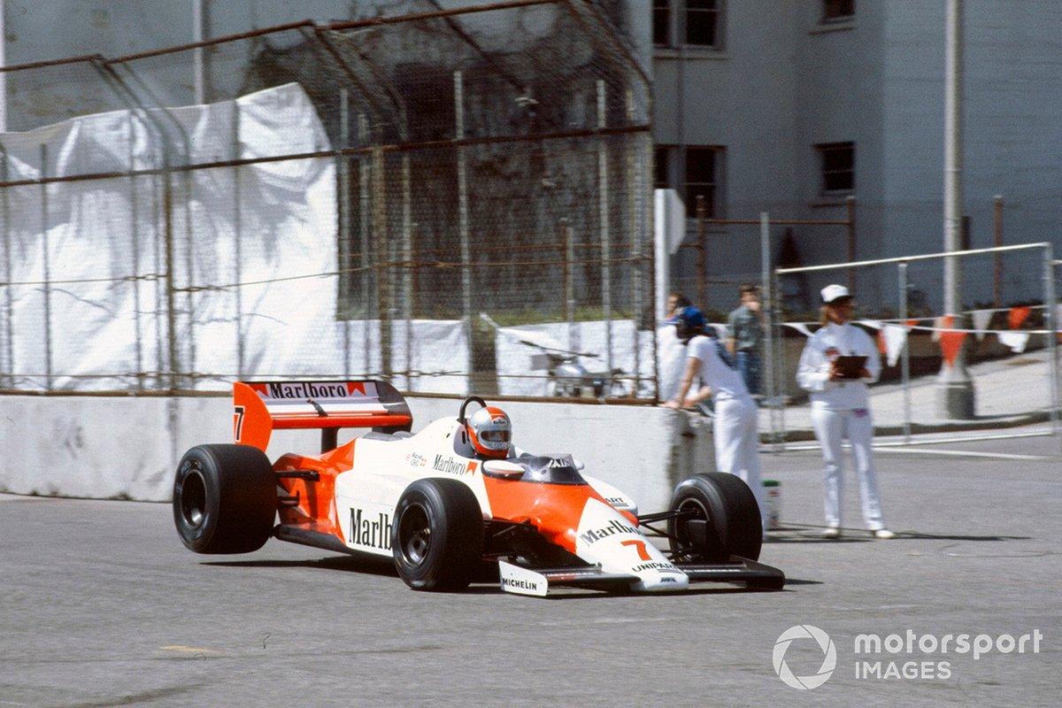 John Watson, McLaren MP4-1C Ford