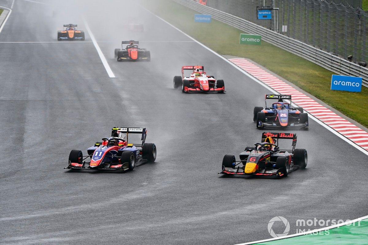 David Beckmann, Trident y Dennis Hauger, Hitech Grand Prix