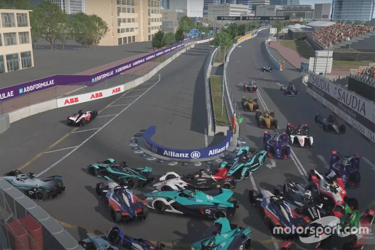 Formula E : Race at Home Challenge - Manche 4