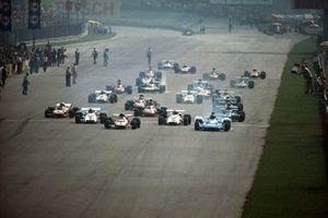 Chris Amon, Matra MS120B, Jacky Ickx, Ferrari 312B2