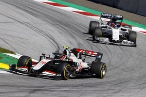 Kevin Magnussen, Haas VF-20 and Daniil Kvyat, AlphaTauri AT01