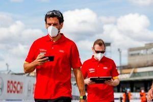 Audi Sport ABT Schaeffler team members
