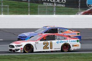 Matt DiBenedetto, Wood Brothers Racing, Motorcraft/Quick Lane Ford Mustang, Quin Houff, StarCom Racing, Permatex Chevrolet Camaro