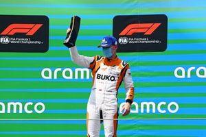 Larry ten Voorde, Team GP Elite, 1st position, with his trophy