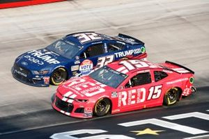 Clint Bowyer, Stewart-Haas Racing, Ford Mustang Rush Truck Centers/Mobil 1 and Corey LaJoie, Go FAS Racing, Ford Mustang Trump 2020