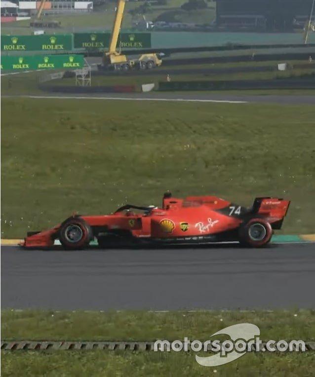 Enzo Fittipaldi na F1 Virtual em Interlagos