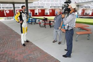 GTLM Pole Winner #4: Corvette Racing Corvette C8.R, GTLM: Oliver Gavin socially distanced interview