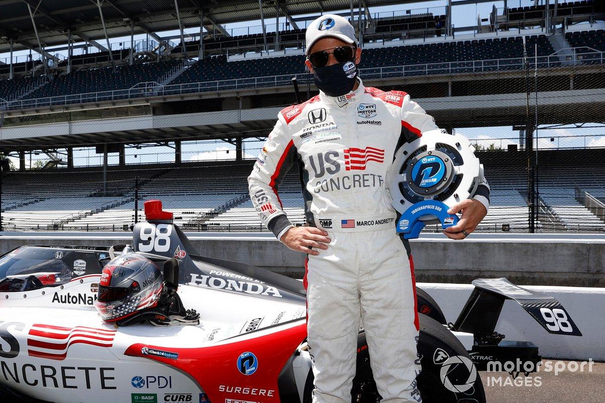 Marco Andretti, Andretti Herta with Marco & Curb-Agajanian Honda, poleman de la Indy 500