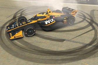 Sage Karam, iRacing, Dreyer & Reinbold Racing-Chevrolet
