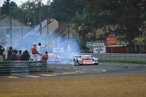#16 Brun Porsche 962 C: Oscar Larrauri, Jesus Pareja, Walter Brun