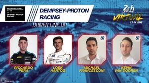 Line-up #88 Dempsey Proton Racing