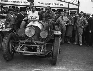 Woolf Barnato and Bernard Rubin, Bentley 4.5 litre