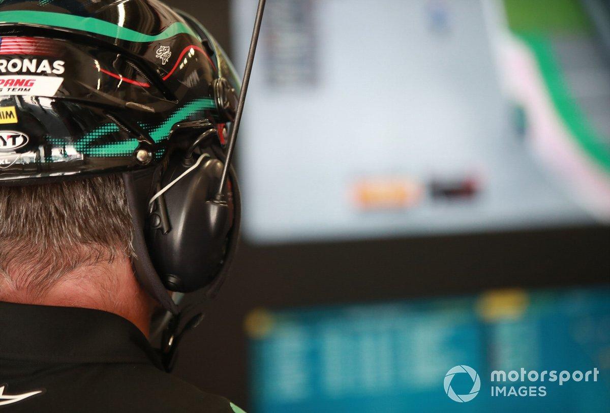 Il garage di Fabio Quartararo, Petronas Yamaha SRT