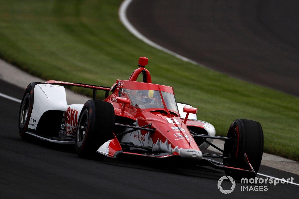 #8 Marcus Ericsson, Chip Ganassi Racing – Honda