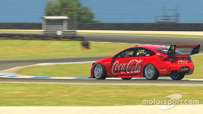 Digital render of Chris Pither's Team Sydney Holden Commodore