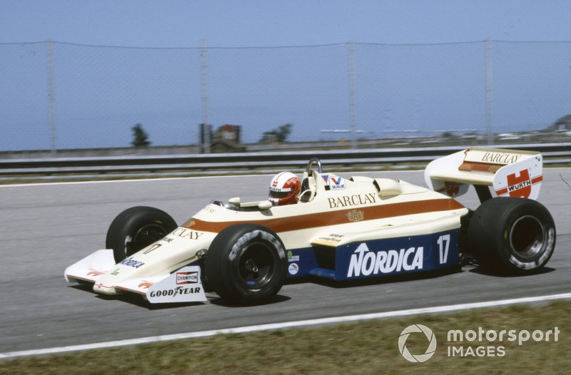 Marc Surer, Arrows A6 Ford