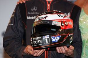 Casco de Kimi Raikkonen, McLaren