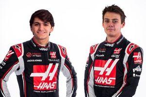 Pietro Fittipaldi y Louis Delétraz, Haas F1 Team