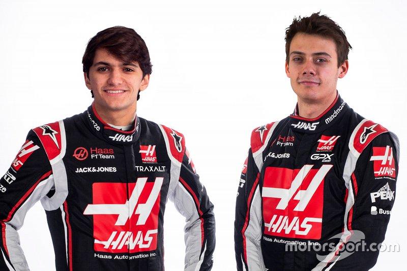Pietro Fittipaldi et Louis Delétraz, Haas F1 Team