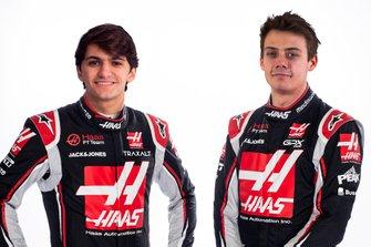 Pietro Fittipaldi e Louis Delétraz, Haas F1 Team