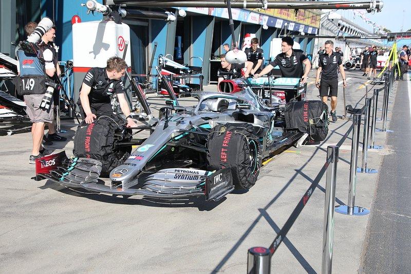 Mercedes F1 W11