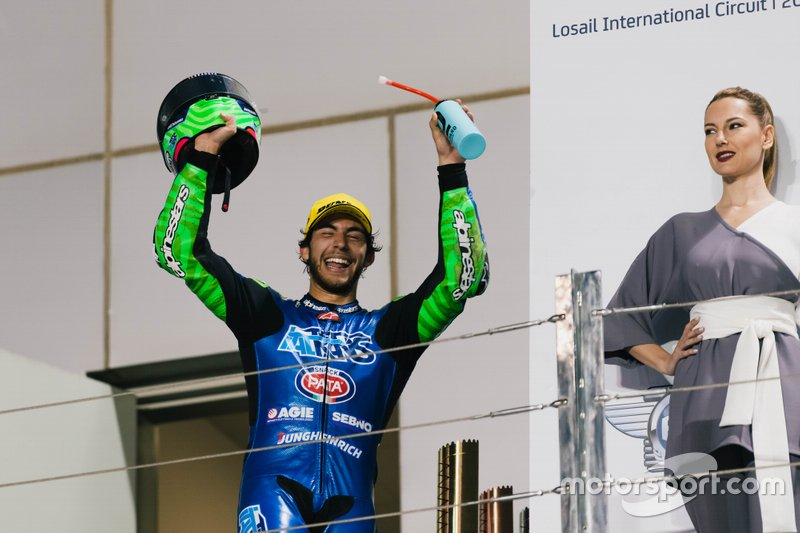Podio: Enea Bastianini, Italtrans Racing Team