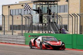 #93 GT3 Pro-Am, Racers Edge Motorsports, Shelby Blackstock, Trent Hindman, Acura NSX GT