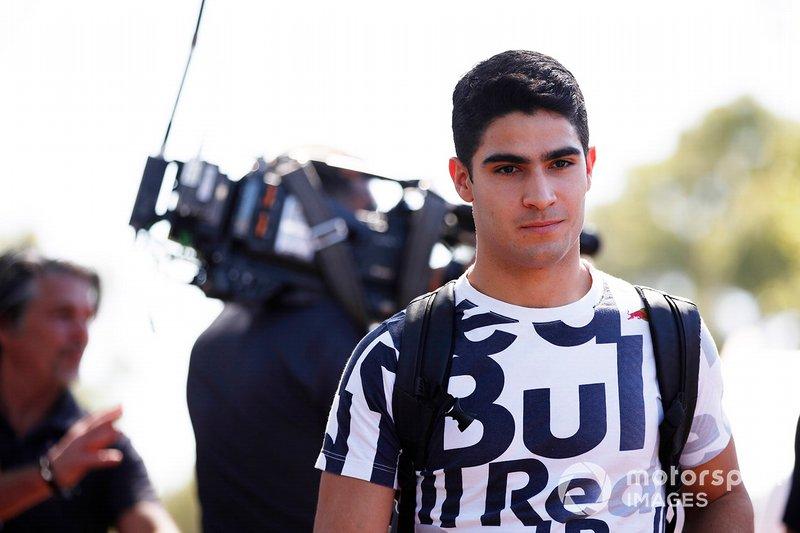 Sergio Sette Camara, reserva de Red Bull Racing