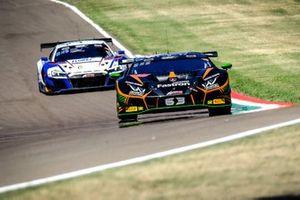 Андреа Кальдарелли, Марко Мапелли и Деннис Линд, #63 Orange 1 FFF Racing Team Lamborghini Huracan GT3 Evo