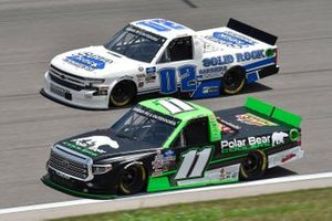 Spencer Davis, Spencer Davis Motorsports, Polar Bear Coolers Toyota Tundra, Tate Fogleman, Young's Motorsports, Solid Rock Carriers Chevrolet Silverado