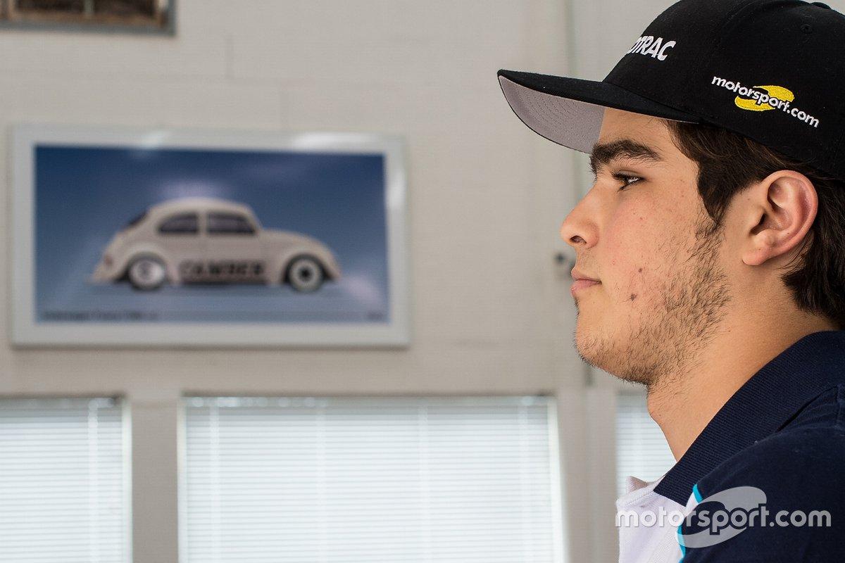 Pedro Piquet, no detalhe