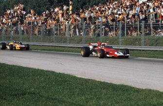 Clay Regazzoni, Ferrari 312B, Ronnie Peterson, March 701