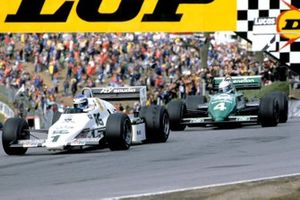 Keke Rosberg, Williams FW08C Ford, Danny Sullivan, Tyrrell 011 Ford