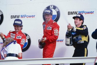Niki Lauda, McLaren, Alain Prost, McLarne, Ayrton Senna, Lotus