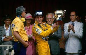 Ayrton Senna, Lotus, Peter Warr, Lotus
