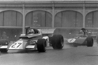 Rolf Stommelen, Eifelland 21, Jackie Stewart, Tyrrell 004