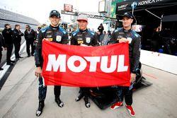 Pole-position voor #10 Wayne Taylor Racing Cadillac DPi: Jordan Taylor, Renger Van Der Zande, Ryan H